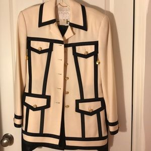 Escada two piece suit with skirt